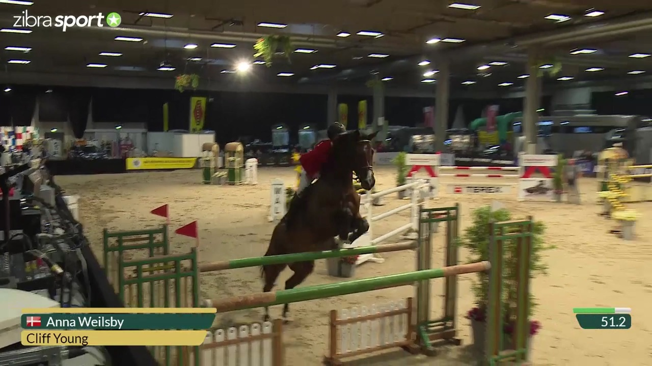 1st part of Junior Big Tour Grand Prix at Odense Horse Show 2016