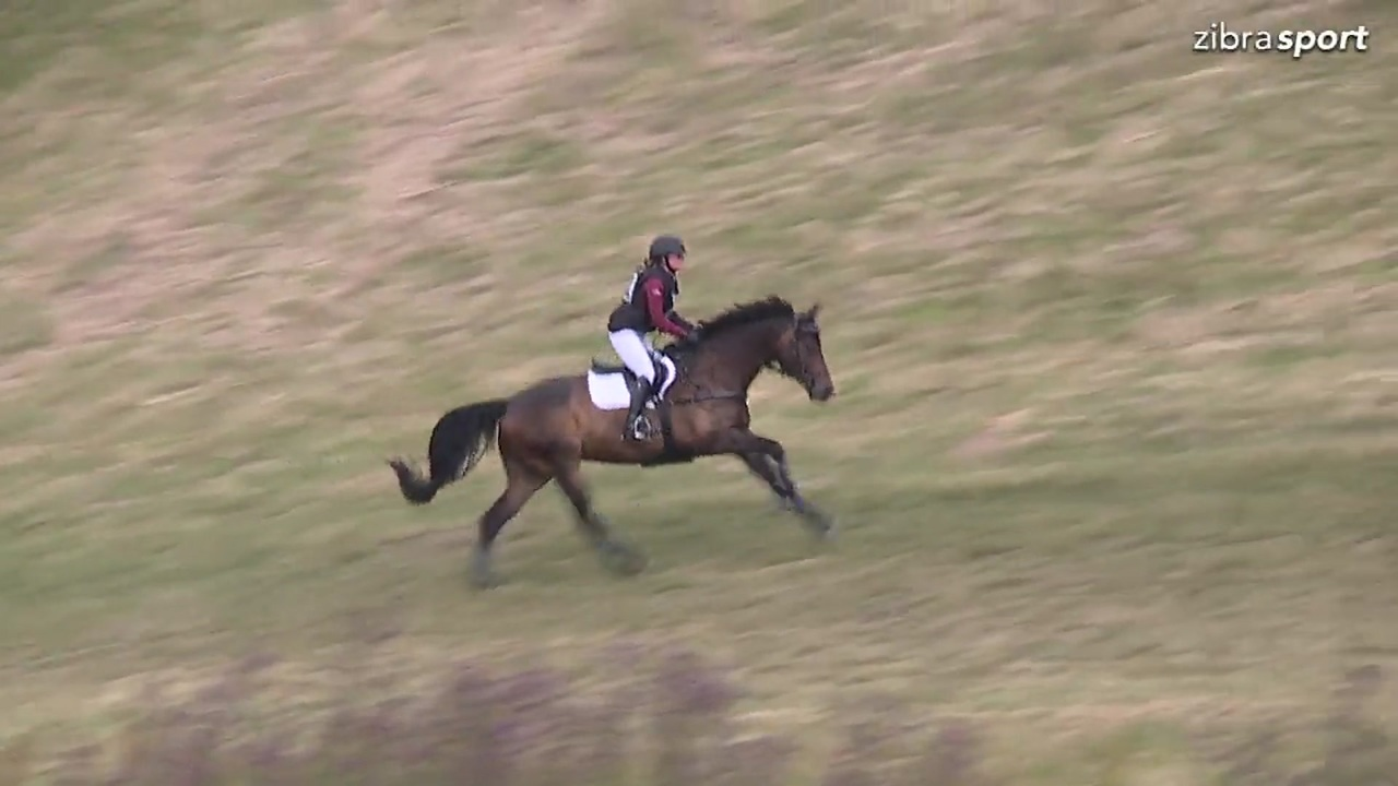 Class 1 cross-country Junior and Youngrider at DRF championship in eventing 2018