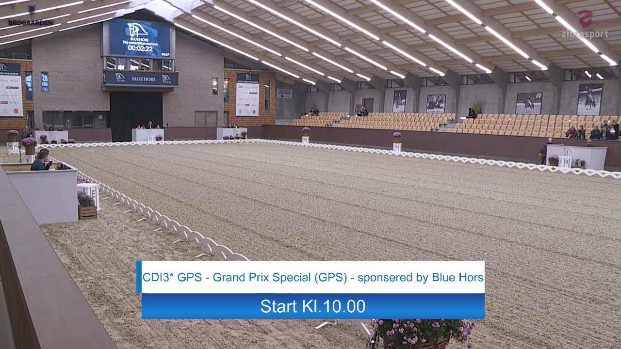 CDI3* Grand Prix Special ved Blue Hors Dressurfestival 2019