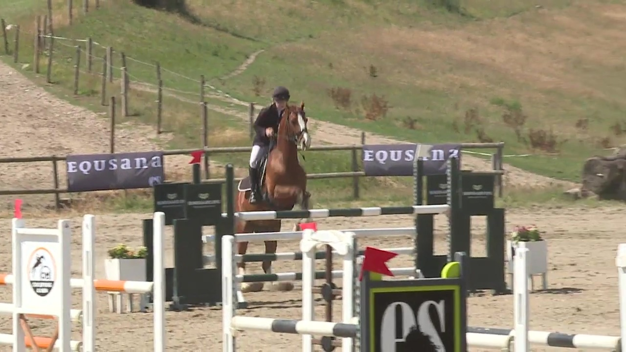 CNC* Junior and Youngrider jumping at the DRF Championship in eventing 2018