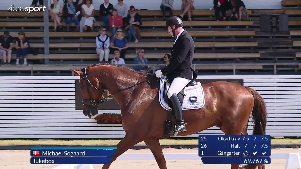 2nd part of the 6 year semi final at Falsterbo Horse Show 2017