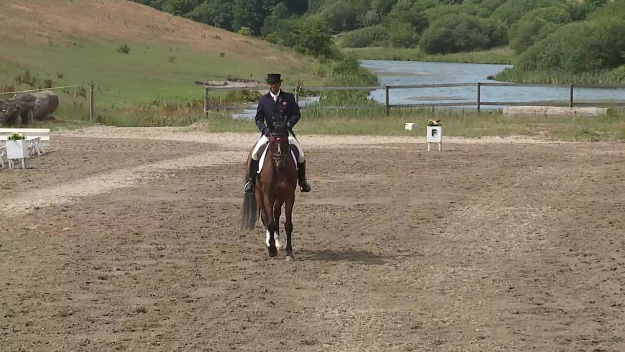CNC1* B – dressage at the DRF Championship in eventing 2018