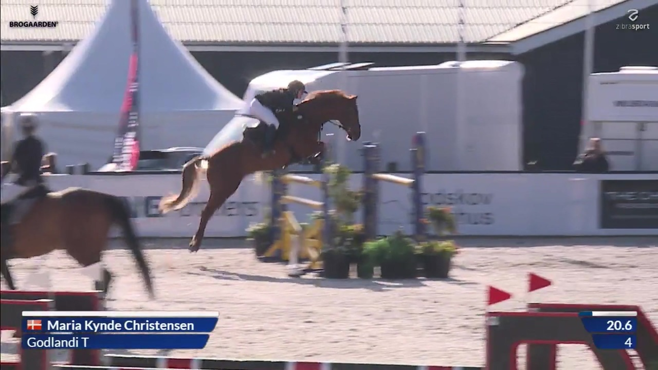 Equilive CSI1* Small Tour final (1,30 m) at Equitour Aalborg 2019