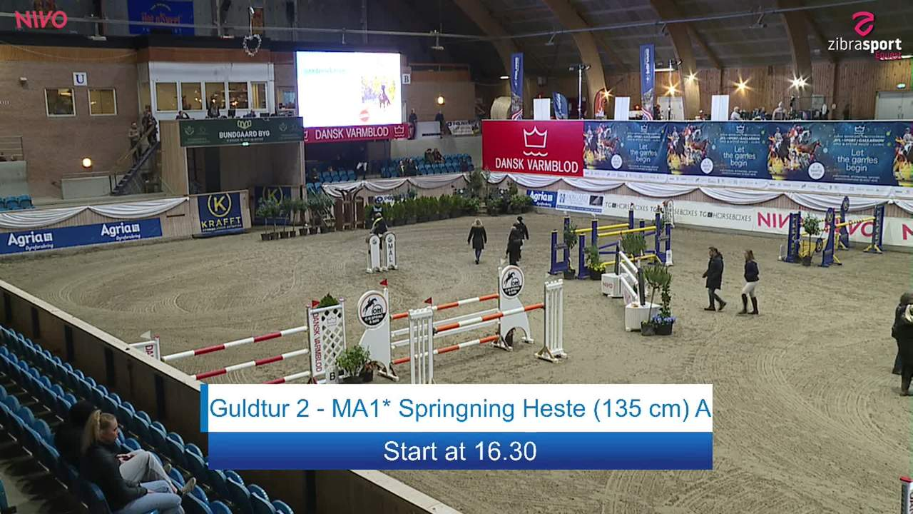 Gold Tour 2 – MA1* Jumping Horses (135 cm) A at the DRF jumping championship at Vilhelmsborg 2020