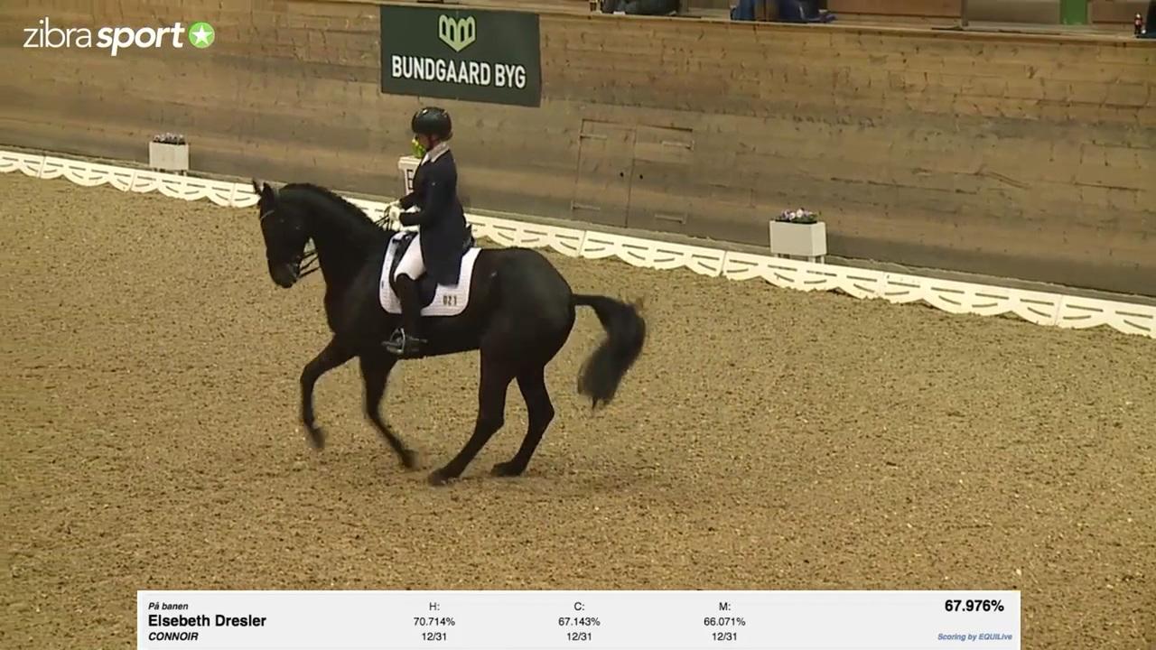 Se Intermediare 2 Heste 2015 ved 1. kval. af Bundgaard Byg Cup 2017 på Holte Rideklub