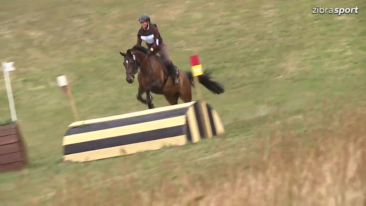 CNC90 Cross-country at DRF championships in eventing 2018