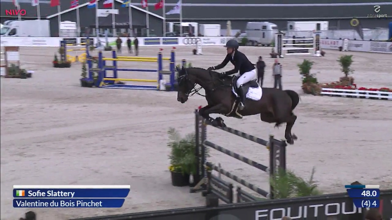 2nd part of Grand Prix (1,60 m) at Equitour Aalborg 2019