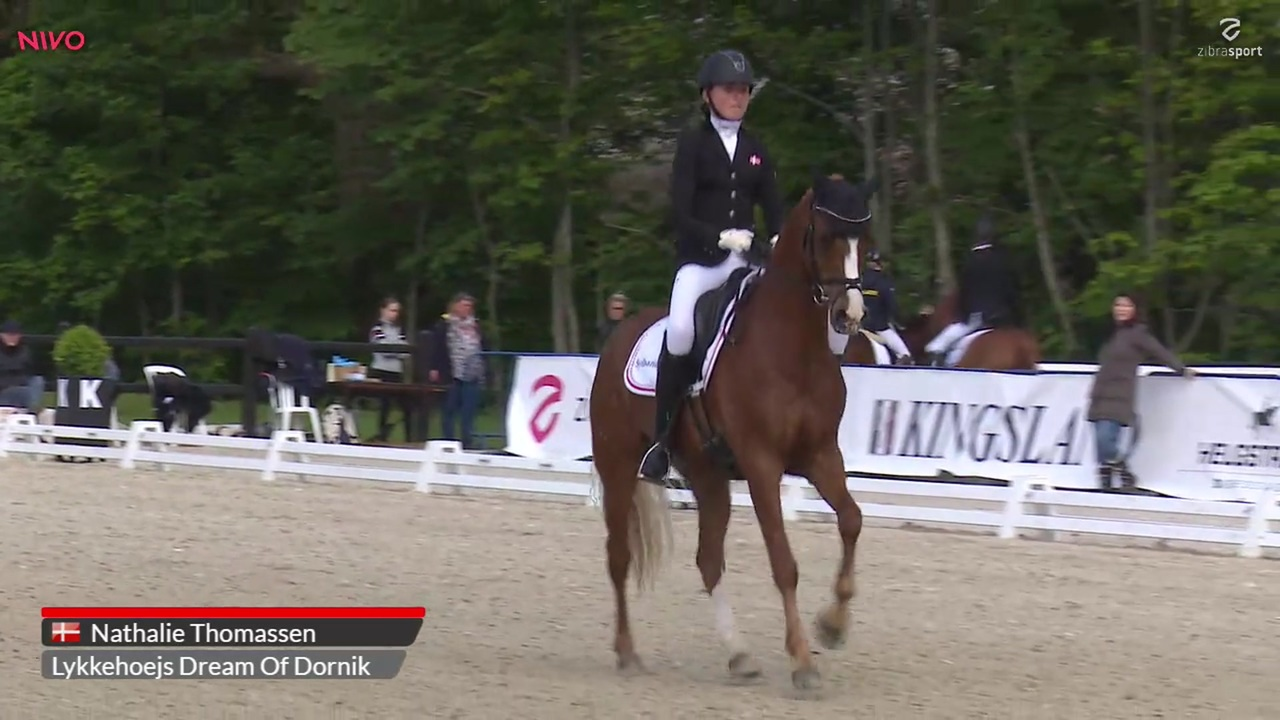 Pony Nations Cup Freestyle to Music at Equitour Aalborg 2019