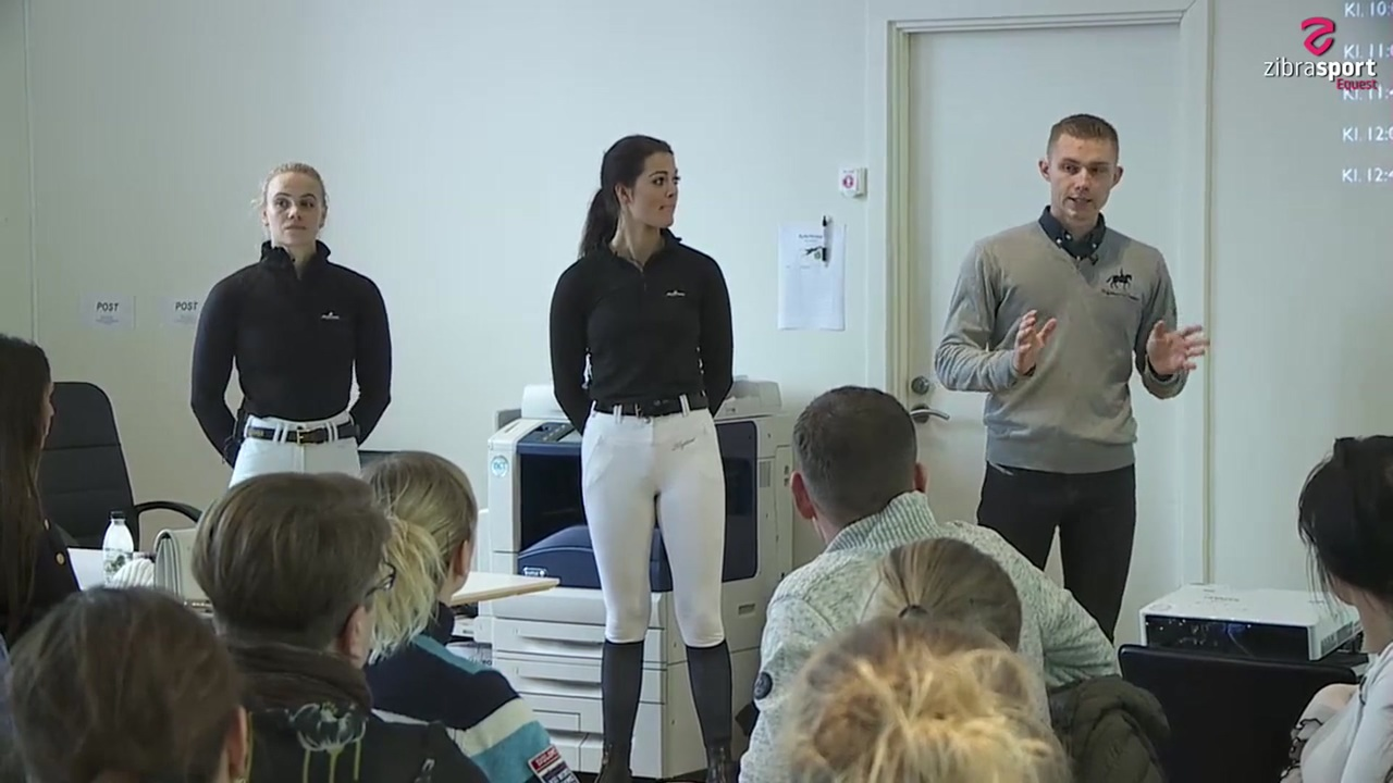 Watch the theoretical part of the clinic at Helgstrand Dressage February 2020