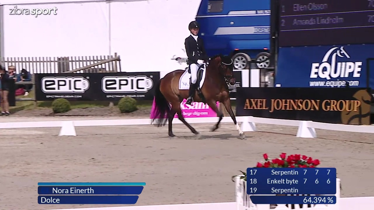 Pony Freestyle at Falsterbo Horse Show 2017