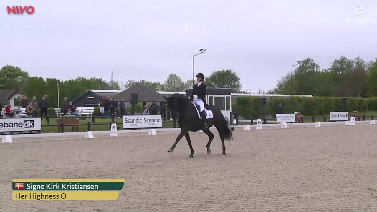 Se CDI3* Grand Prix Freestyle klassen fra Aalborg Dressage Event 2019
