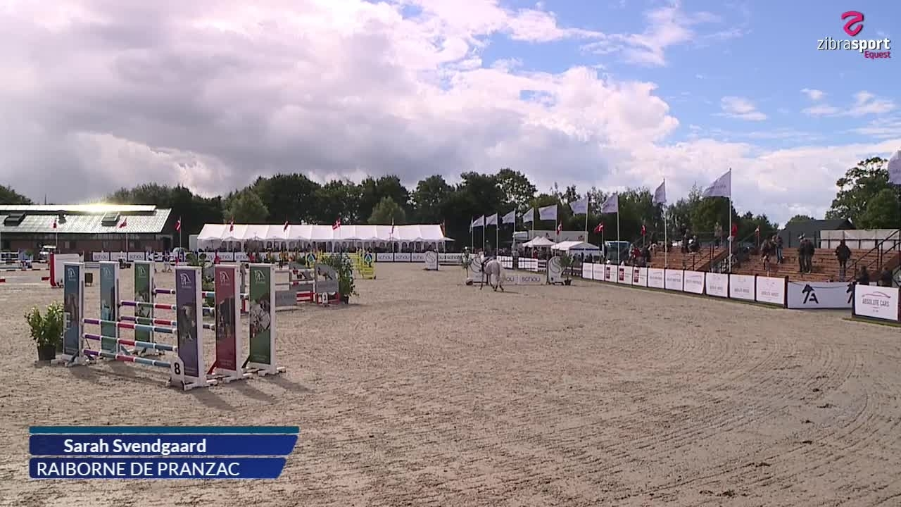 2nd qualifier and final of Agria DRF championship U21 – S1* (145 cm) A