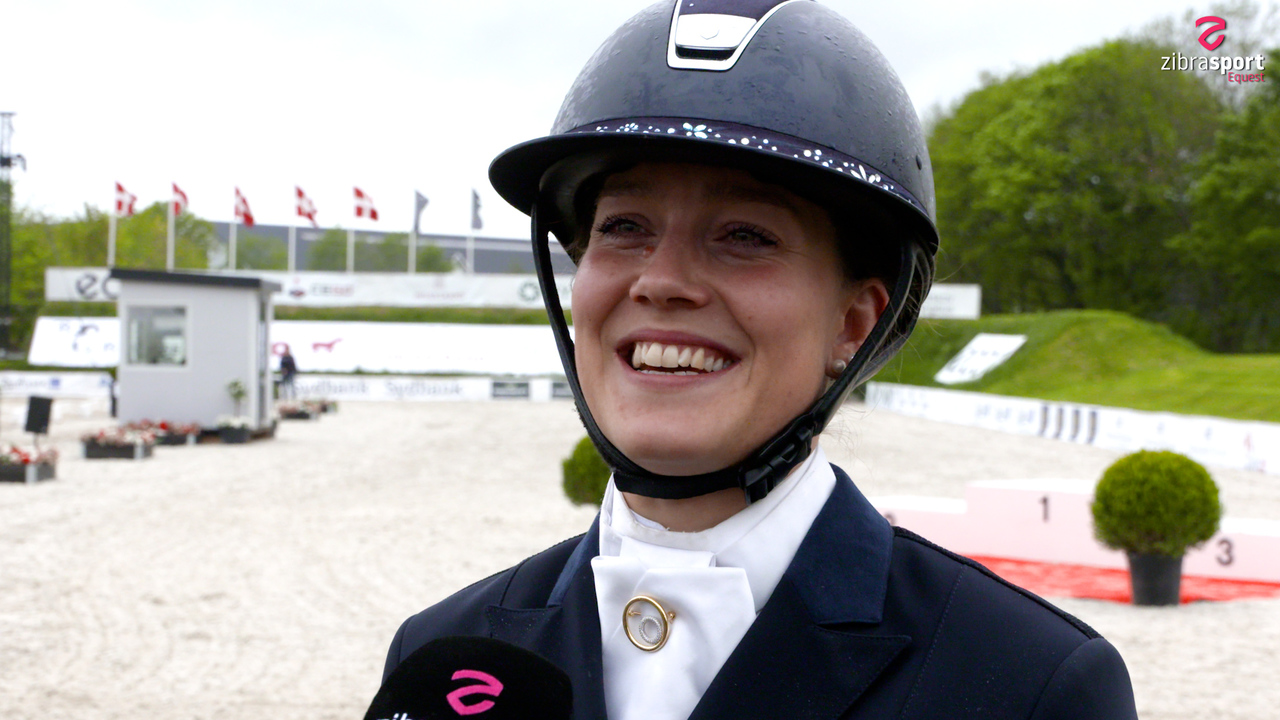 Cathrine Dufour: We are so happy
