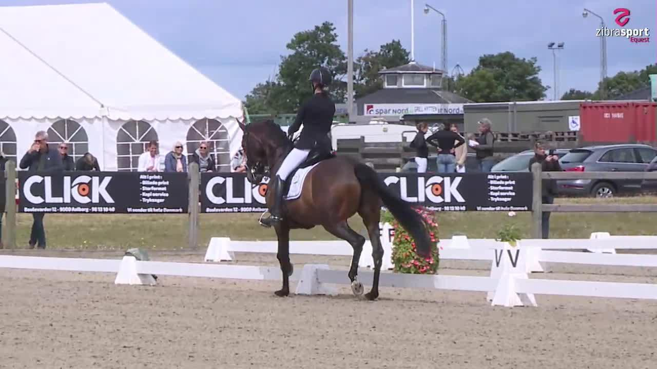 Nathalie Horse Care MB1-A – part one  – national dressage event at Hjallerup Rideklub