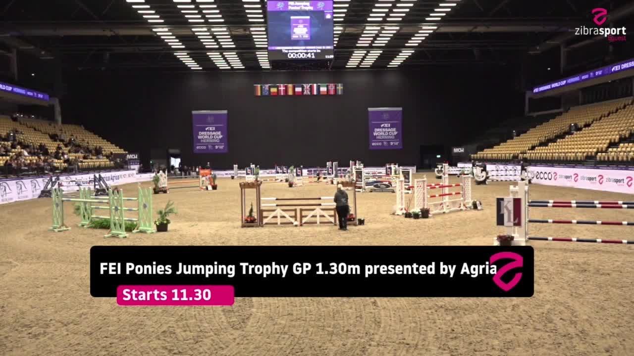 FEI Ponies Jumping Trophy GP (1.30m) – Herning 2021