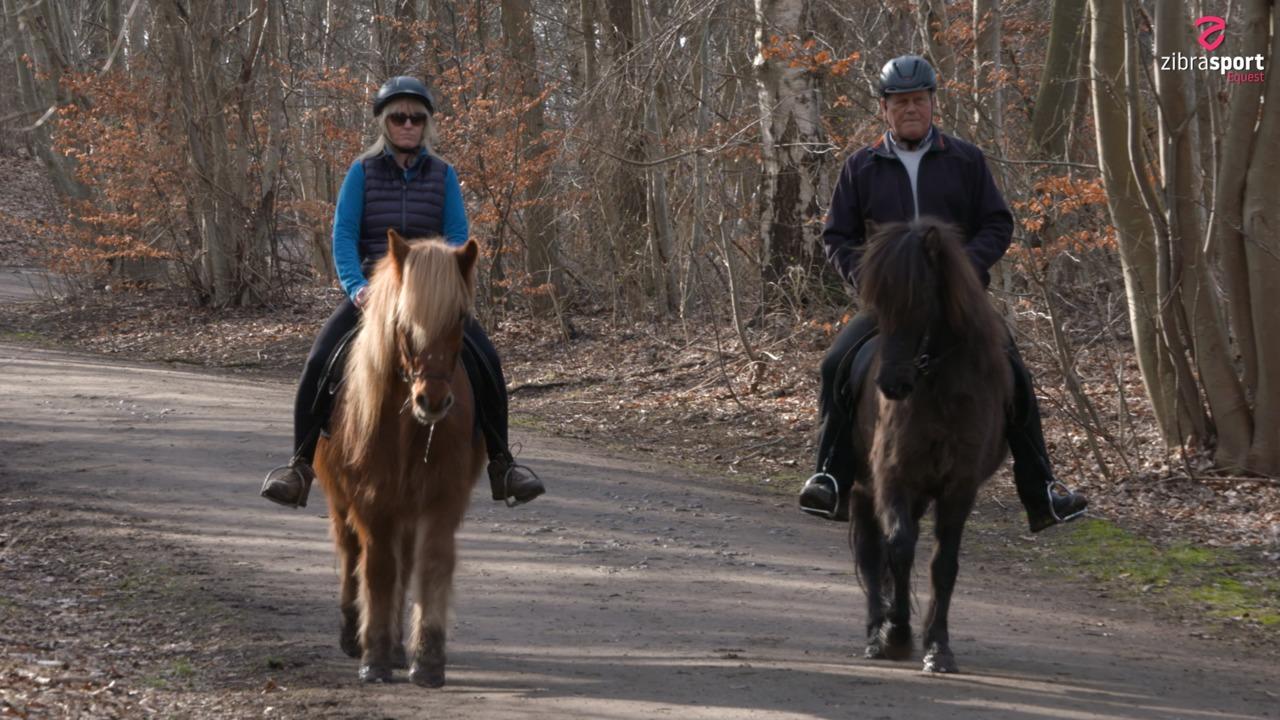Hestene hjalp Lotte til et nyt liv