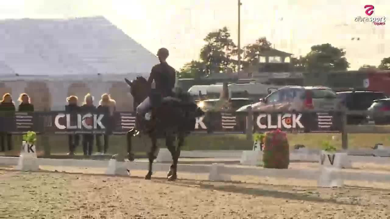 2nd part of Grand Prix – national dressage event at Hjallerup Rideklub