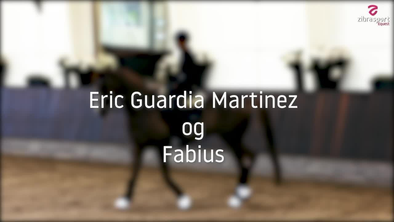 Dressurclinic med Eric Guardia Martinez