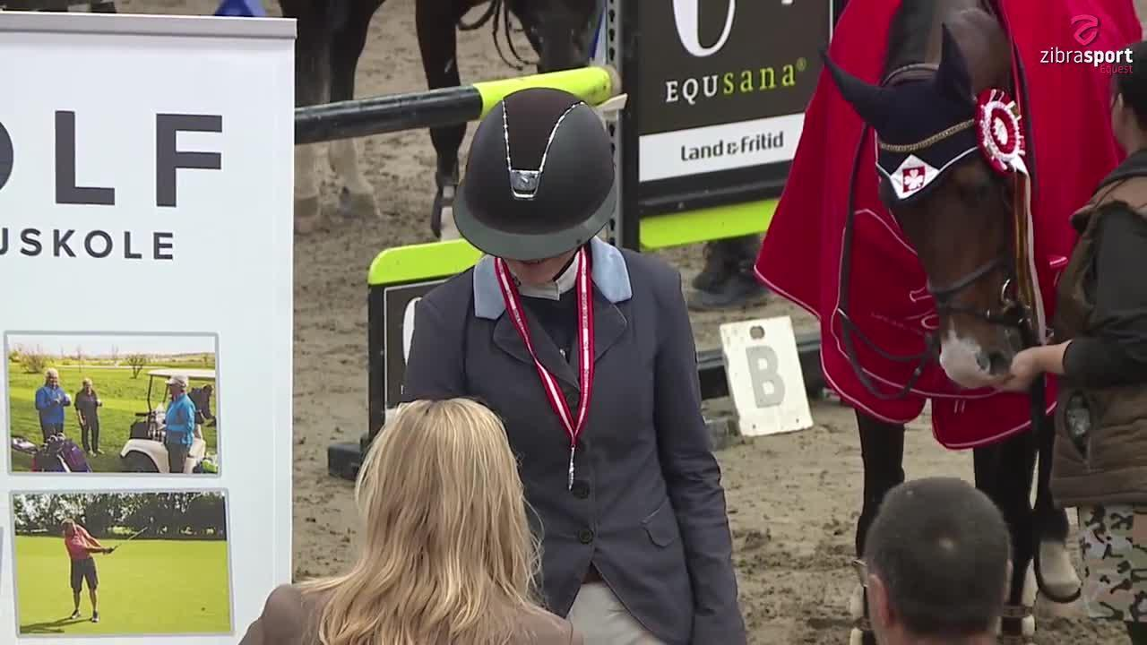 Agria DRF championship junior, finale MA1* (135 cm) – Sønderborg 2021