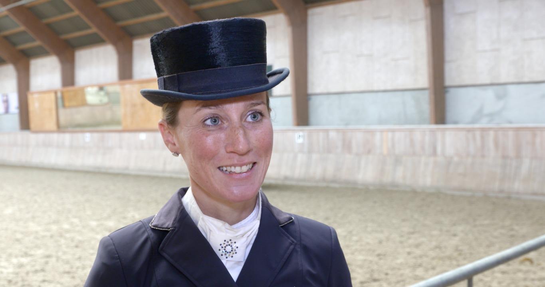 Interview with Helen Langehanenberg at World Cup Vilhelmsborg