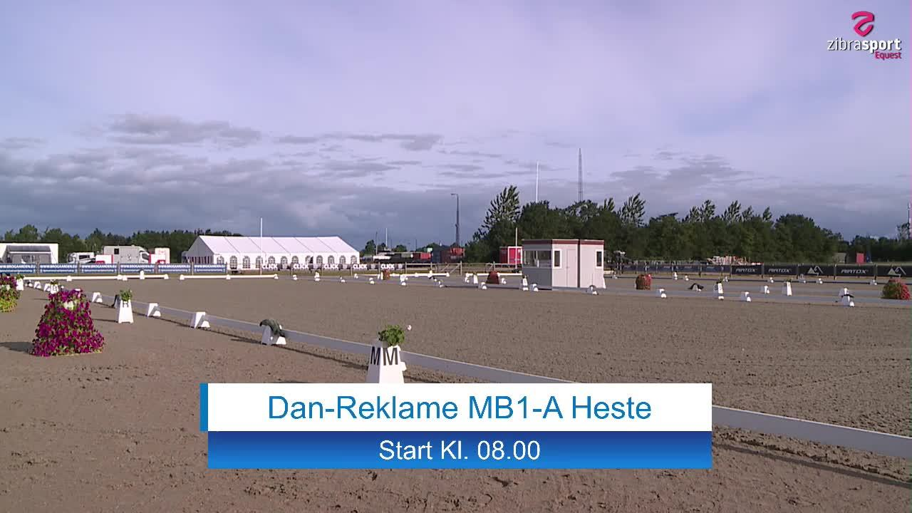 Dan-Reklame MB1-A – national dressage event at Hjallerup Rideklub