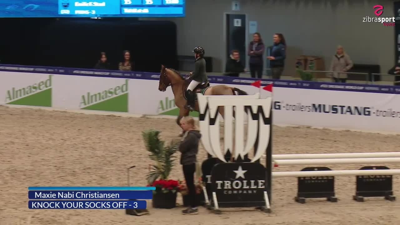 Warm Up Mustang Cup, kat. III, MB1*(85 cm) S4 – Herning 2021