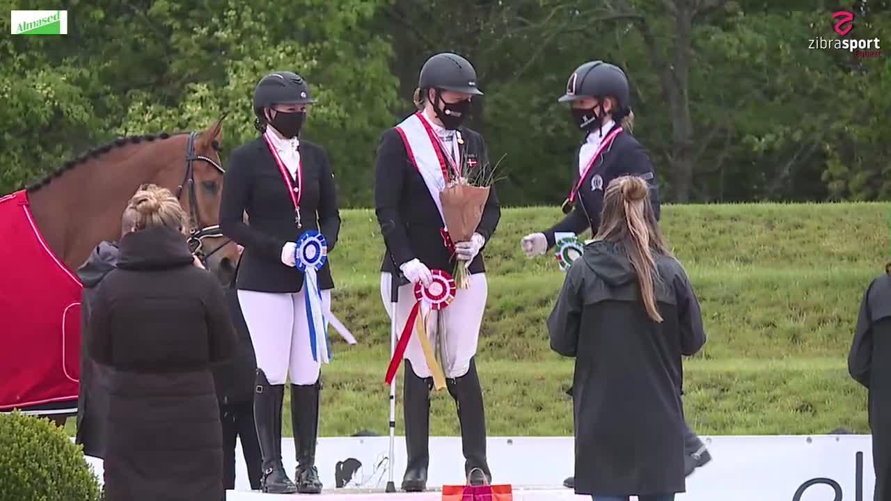 Prizegivings Danish Championships in Paradressage 2021