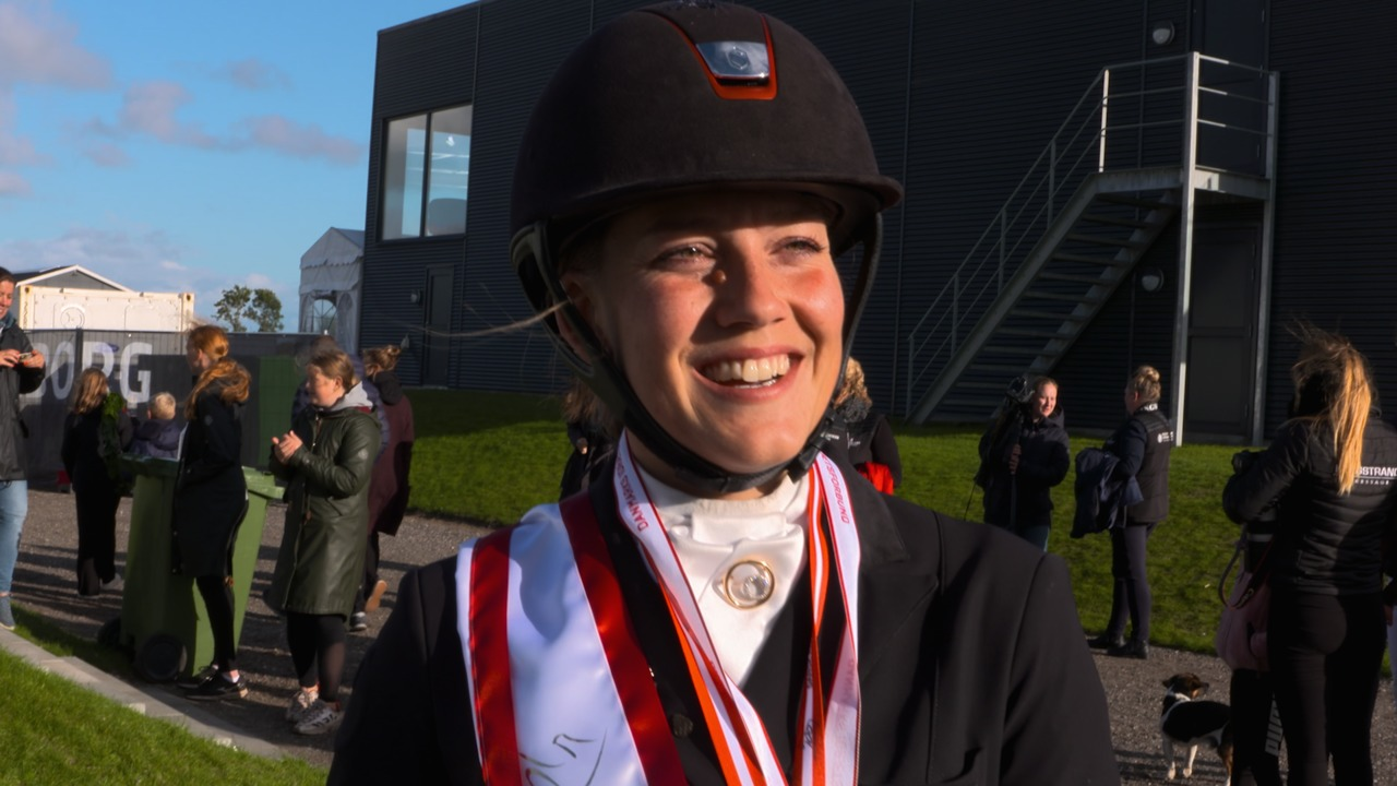 Cathrine Dufour and Cassidy – Danish Champions