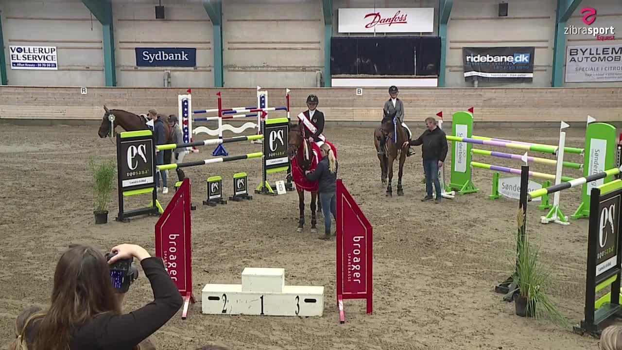 Agria DRF championship YR, finale MA2** (140 cm) – Sønderborg 2021