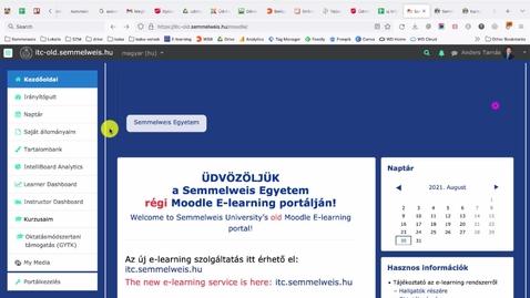 Thumbnail for entry Teljes kurzus átmásolása a régiből az új Moodle-rendszerbe