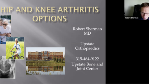 Thumbnail for entry Healthlink - Hip and Knee Arthritis - Surgical and Non-surgical Treatments