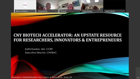 Thumbnail for entry Hot Topics in Research Presentation