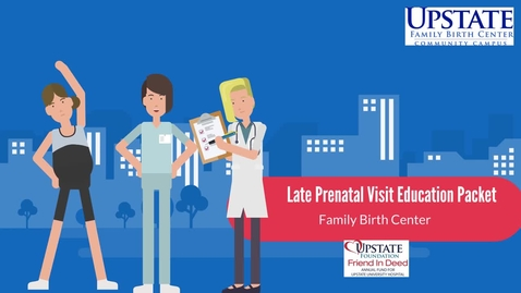 Thumbnail for entry Late Prenatal OB Education Packets
