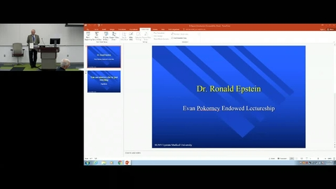 Thumbnail for entry Department of Medicine Chairman's Grand Rounds-02-15-2018