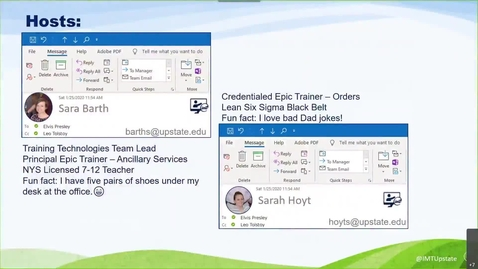 Thumbnail for entry July 14 MS Outlook Webinar