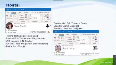 Thumbnail for entry July 14 MS Outlook Webinar