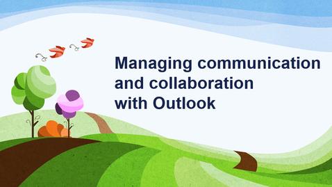 Thumbnail for entry MS Outlook Webinar 10.07.2020