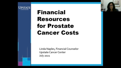 Thumbnail for entry Financial Resources for Prostate Cancer Costs - HealthLink