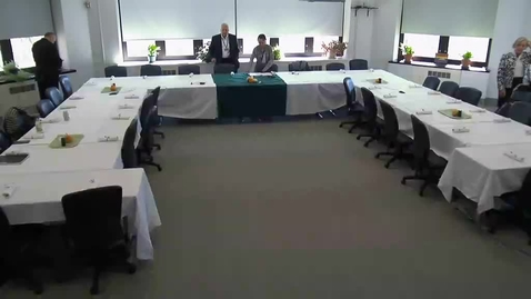 Thumbnail for entry Upstate College Council Meeting: 10/19/2017