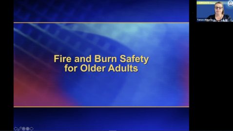 Thumbnail for entry Healthlink-Fire and Burn Safety for Older Adults