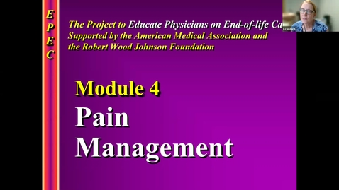 Thumbnail for entry 8/31 Pain Management with Dr. Krenzer