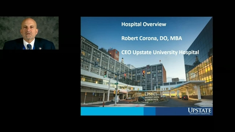 Thumbnail for entry Credentialed Provider Orientation-Dr Robert Corona