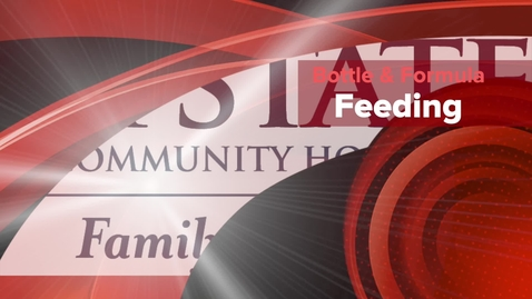 Thumbnail for entry Any Formula Feeding Education