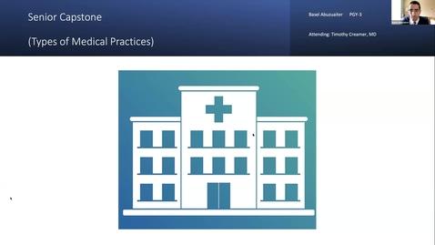 Thumbnail for entry 9/02 Senior Capstone with Dr. Basel Abuzuaiter & Dr. Sonica Patel