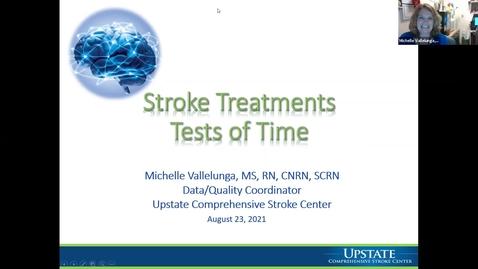 Thumbnail for entry Stroke Treatments - HealthLink