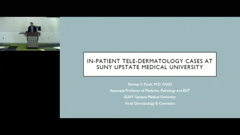 Thumbnail for entry Department of Medicine Chairmans Grand Rounds - 3/15/2018