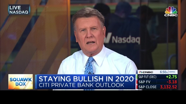 David Bailin on CNBC: Why we're staying bullish for 2020