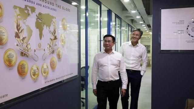 Dr Michael Tan & Dr Daniel Chan – Fullerton Health