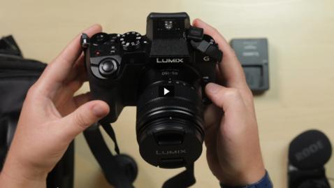 Thumbnail for entry Panasonic G7