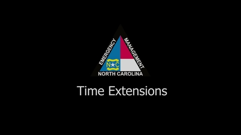 Thumbnail for entry NCEM - Time Extension Tutorial